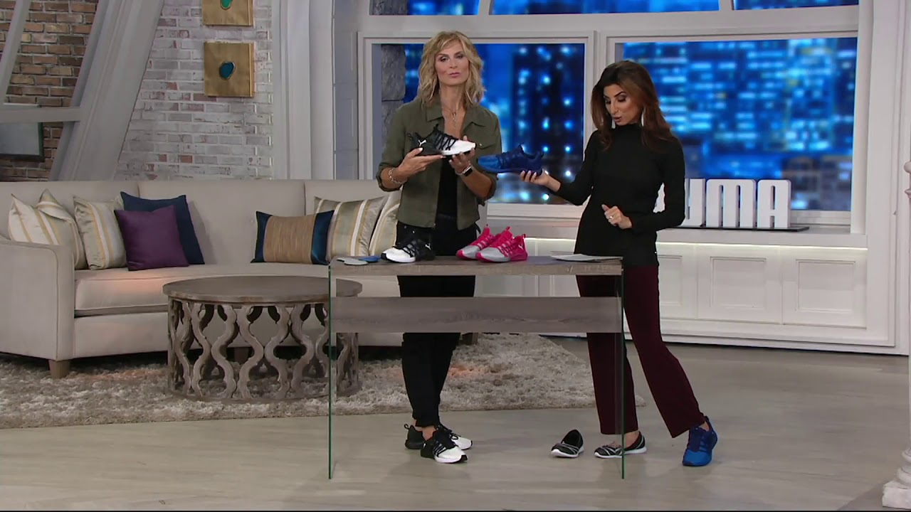 2ee80946a1203 PUMA Satin Lace-up Sneakers - Prowl Alt Fade on QVC - YouTube