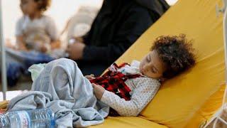 الكوليرا تتفشى مجددا في اليمن: 10 آلاف حالة كل أسبوع بحسب الأمم المتحدة…