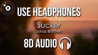 Jonas Brothers - Sucker (8D AUDIO)