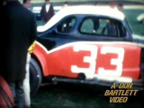 Orange County Fair Speedway (Middletown NY) 1965 Pit Shots