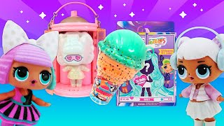 Красивые куклы — распаковка для девочек. Hairdorables, сквиши и новая ЛОЛ с волосами