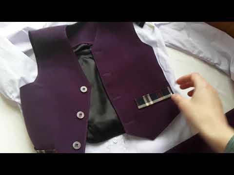 Костюм на мальчика фиолетовый. Eli-stor.com