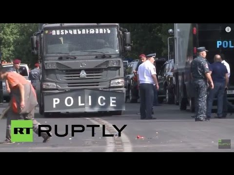 LIVE: Anti-government protests continue in Yerevan