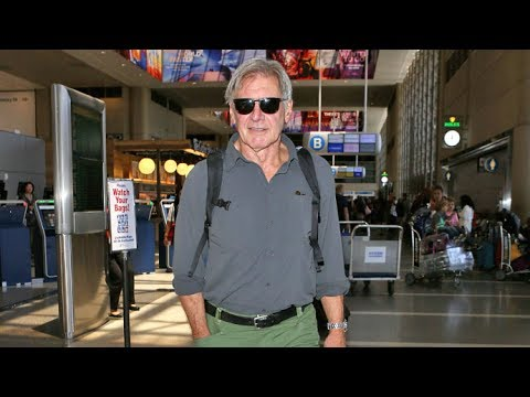 Harrison Ford Flashes A Smile At LAX When Asked If He Would Pilot A Commercial Plane In An Emergency