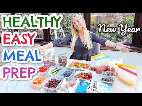 HEALTHY MEAL PREP LIKE A PRO! NEW YEAR HEALTH KICK | Emily Norris
