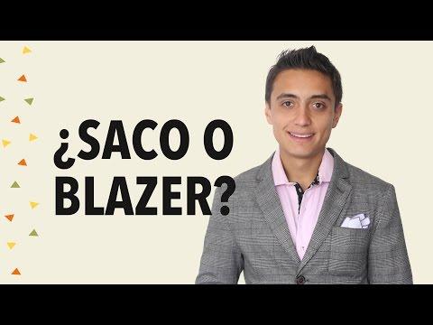 Diferencias entre un saco y un blazer | Humberto Gutiérrez