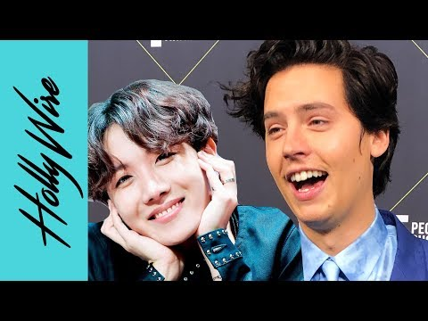 "Cole Sprouse Revealed He Has a ""Bro Crush"" On All the Members of BTS"