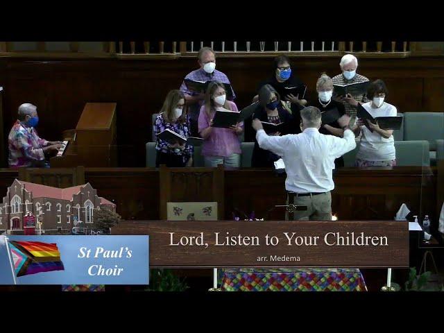Lord Listen to Your Children Praying