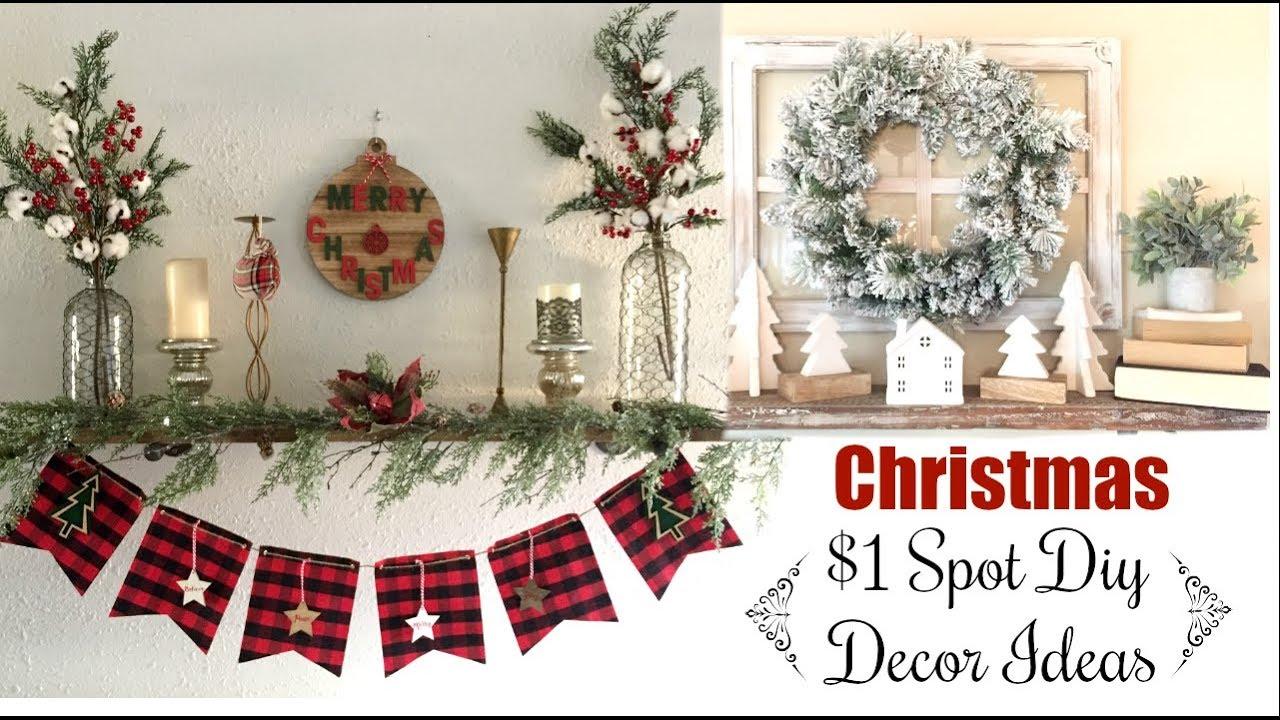 Target $1 Spot Christmas Diys & Decor Ideas