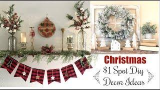Target $1 Spot Christmas Diys & Decor Ideas | Decorating Ideas on a Budget |Momma From Scratch