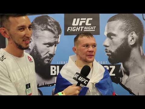 Петр Ян: интервью после победы на UFC Прага