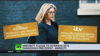 The new UK Defence Secretary Penny Mordaunt MP has pledged amnesty ...