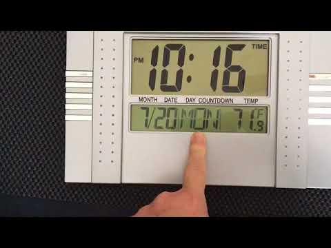 78188e1365b Como mudar hora no relógio de parede digital