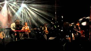 Mumford and Sons - Lover's Eyes (New Song 2011) Live @ Railroad Revival Tour