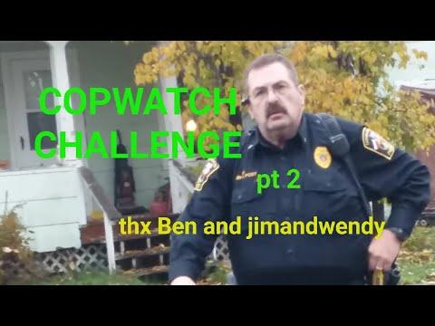Pt. 2 Copwatch Challenge GRADUATES ( BEN & jimandwendy ) Pls support, ALWAYS RECORD THE POLICE