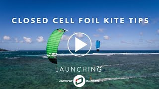 In this video we guide you through the LAUNCHING of a closed foil k...