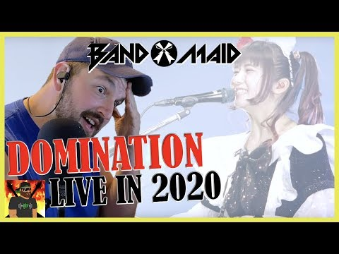 The Legendary Pigeon!!  Band-maid / Domination Feb. 14th, 2020  Reaction
