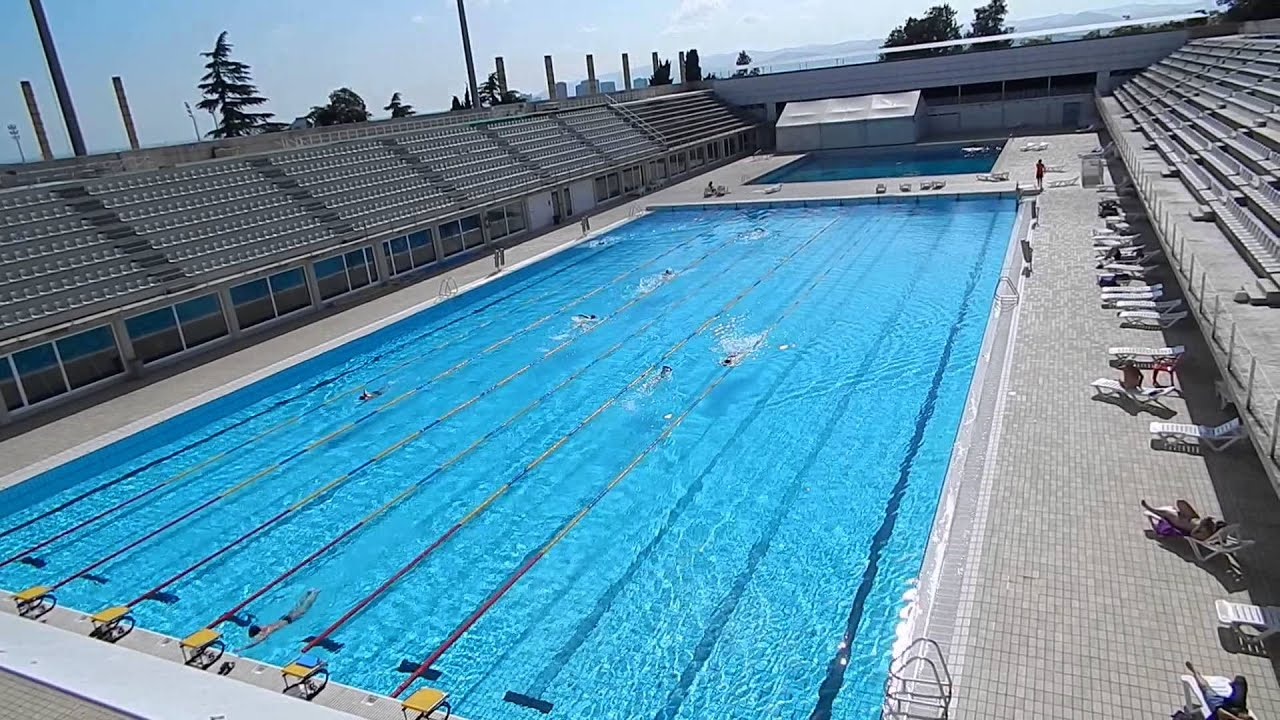 Olympic 1992 pool barcelona piscina picornell de los jjoo del 92 3 youtube - Piscina en barcelona ...