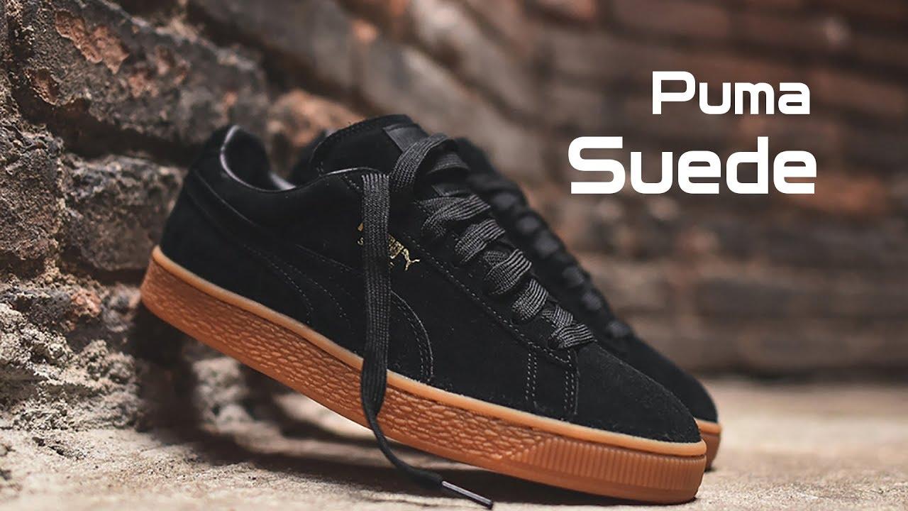 Обзор кроссовок Puma Suede ОРИГИНАЛ - YouTube 1deb659727178