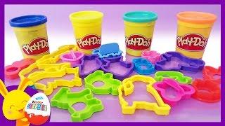 COULEURS - Surprises Play Doh pour les enfants - Pâte à modeler - Touni Toys - Titounis
