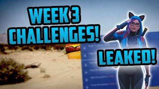 Week 3 Leaked Challenges *SEASON 7* Challenges Guide - Fortnite