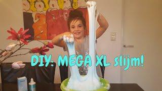 DIY - Zelf Fluffy slijm maken - Beste recept EVER! Slime (Nederlands)
