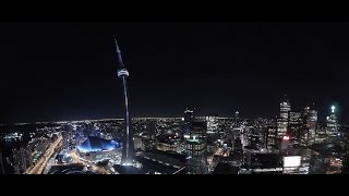 Climbing Maple Leaf Towers (610ft) - Toronto Ontario