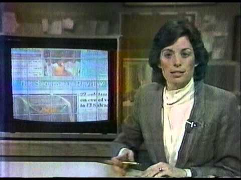 """1983 KXLY TV News Segment with Donna Kelley"""