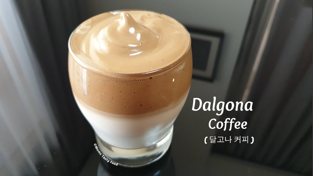 How To Make Dalgona Coffee Homemade Dalgona Coffee Recipe Coffee Without Mixer Frothy Coffee Youtube