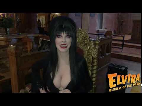Elvira Viva Las Vegas Promo with Music