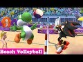Mario & Sonic At The London 2012 Olympic Games Beach Volleyball #115 Peach & Yoshi (Hard)
