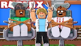 ESCAPE THE EVIL BARBERSHOP IN ROBLOX