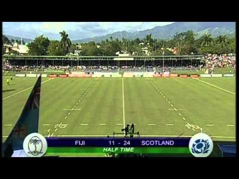 Fiji v Scotland 2012
