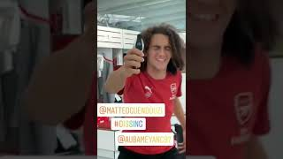 Arsenal Funny Moments and Videos (Aubameyang, Lacazette, Mustafi, Iwobi, Ozil, Guendouzi) - PART 1