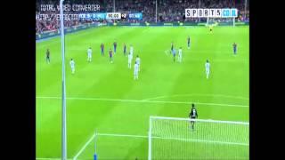 Daniel Alves Amazing Goal Barcelona vs Mallorca 5-0 29/10/2011