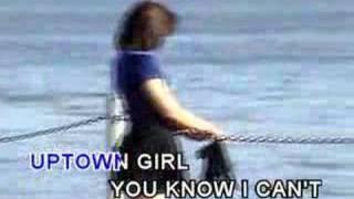 westlife- uptown girl- karaoke
