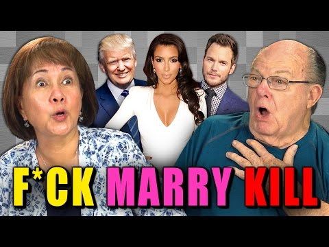 ELDERS PLAY F*CK MARRY KILL (REACT Special)