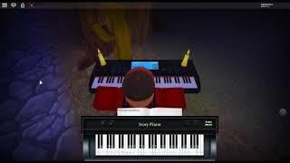 Tema do giorno v2-aventuras bizarras Jojo: Golden Wind por: Yugo Kanno em um piano ROBLOX.