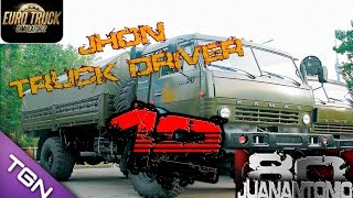 Euro truck simulator 2 Truckers Map r43 by goba6372 + KRAZ260  parte 12