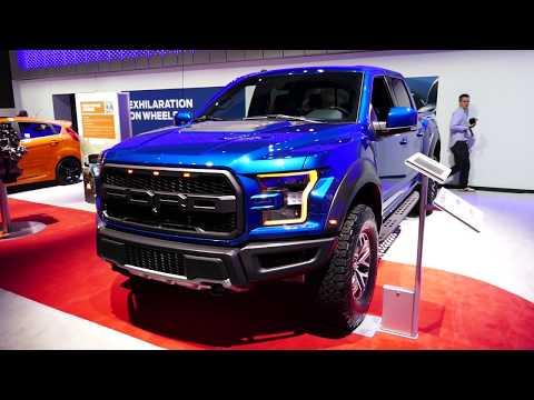 New 2018 Ford F-150 Raptor SuperCrew Truck - Exterior Tour - 2017 LA Auto Show, Los Angeles