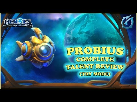 Grubby | Heroes of the Storm - Probius - Complete Talent Review