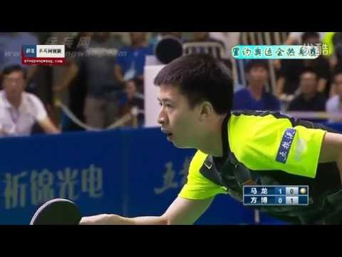 2016 China Warm-up matches for Rio Olympics: MA Long - FANG Bo [Full Match/Chinese]