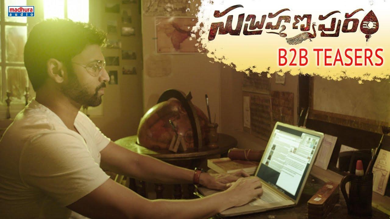 Subrahmanyapuram Back To Back Teasers | Sumanth , Eesha Rebba | Santhossh Jagarlapudi