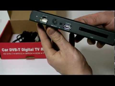 Unboxing DVB-T TV tuner box Conax CI