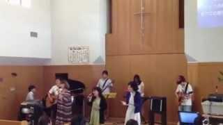教会バンドサマーライブ2012の2曲目。前に載せていたキリストの体とされ...