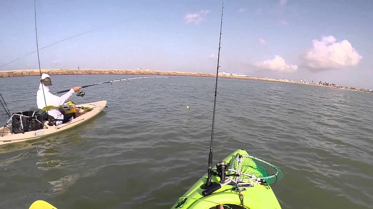 Fishing surfside beach tx 22in spanish mac youtube for Surfside fishing report