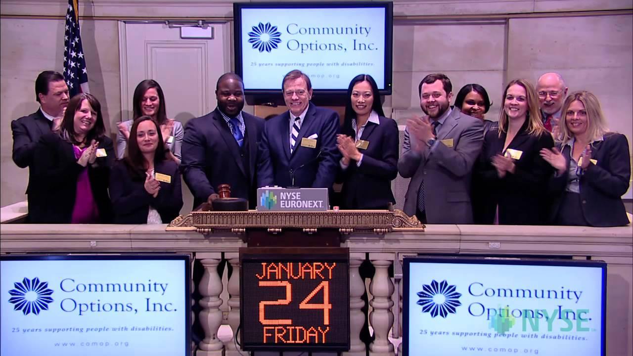 Community options stock exchange