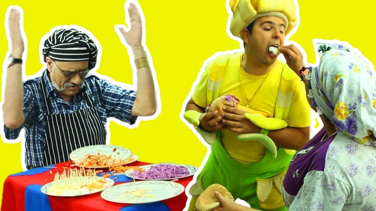 فوزي موزي وتوتي - التيتا في السوبرماركت - Teta foziya at supermarket