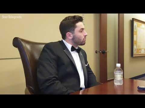 NFL prospect Baker Mayfield dismisses Johnny Manziel comparisons