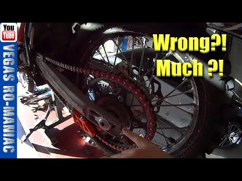 👀 Most people install their motorcycle rear wheel wrong! 👍